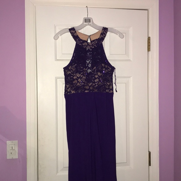David\'s Bridal Dresses | A Deep Purple Dress | Poshmark
